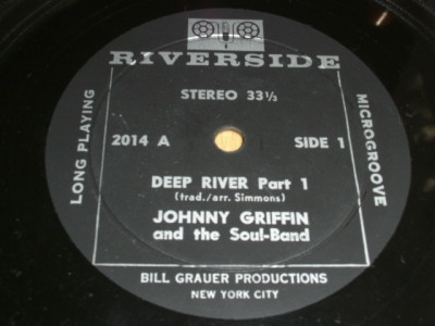 Johnny Griffin And The Soul-Band - Deep River