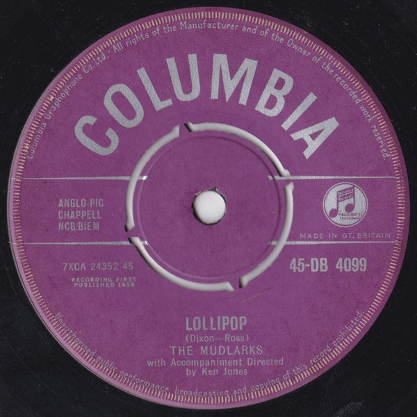 The Mudlarks - Lollipop