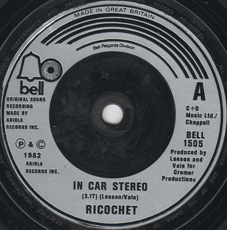 Ricochet - In Car Stereo / What Do You Make Of Love