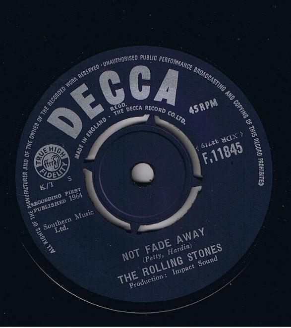 Rolling Stones - Not Fade Away / Little By Little