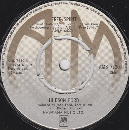 Hudson Ford - Free Spirit