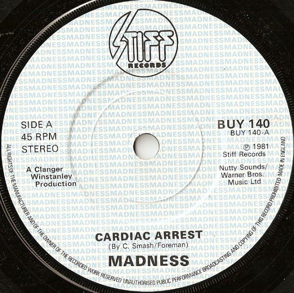 Madness - Cardiac Arrest