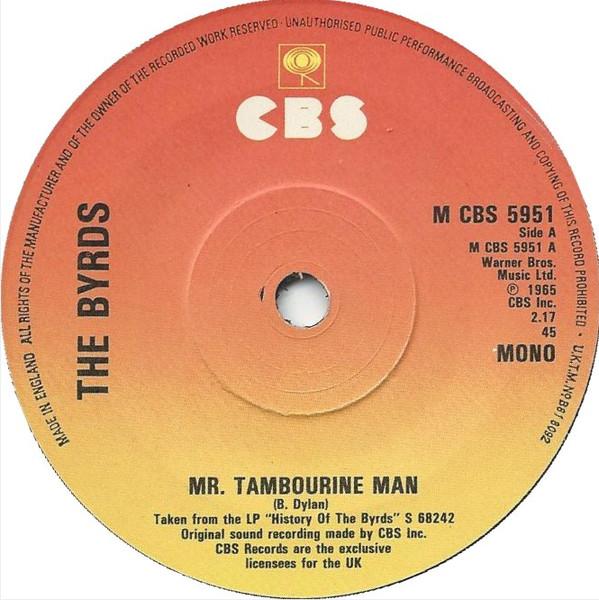 The Byrds - Mr Tambourine Man / Turn Turn Turn