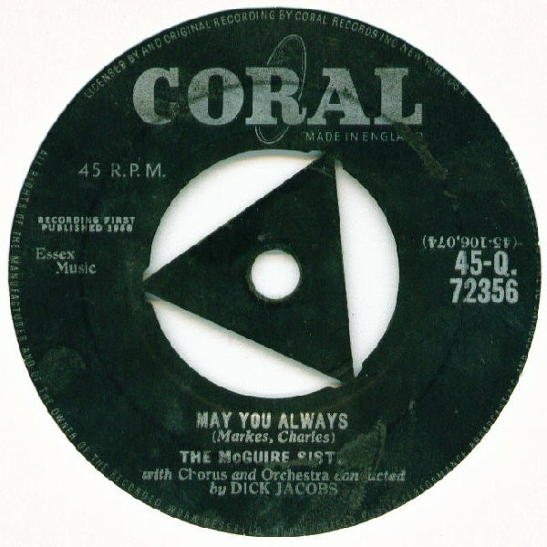 The McGuire Sisters - May You Always