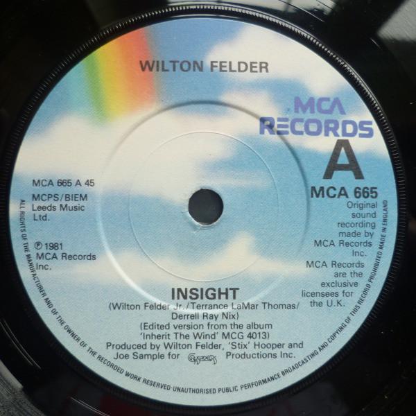 Wilton Felder - Insight