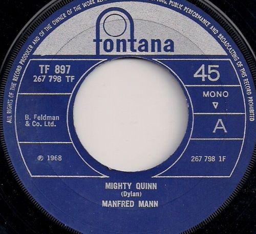 Mighty Quinn - Manfred Mann
