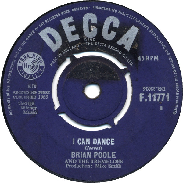 Brian Poole And The Tremeloes - I Can Dance