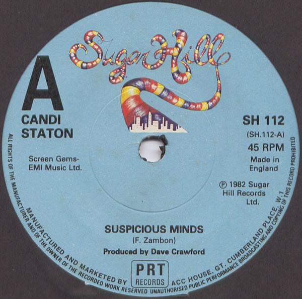 Candi Staton - Suspicious Minds