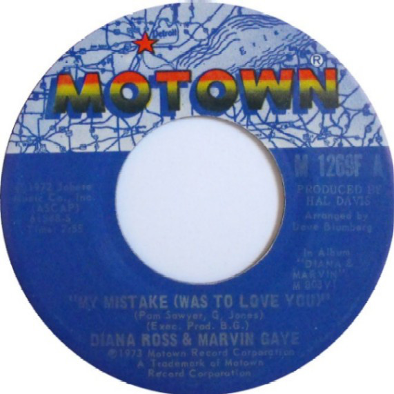 Diana Ross & Marvin Gaye -  My Mistake (Was To Love You)