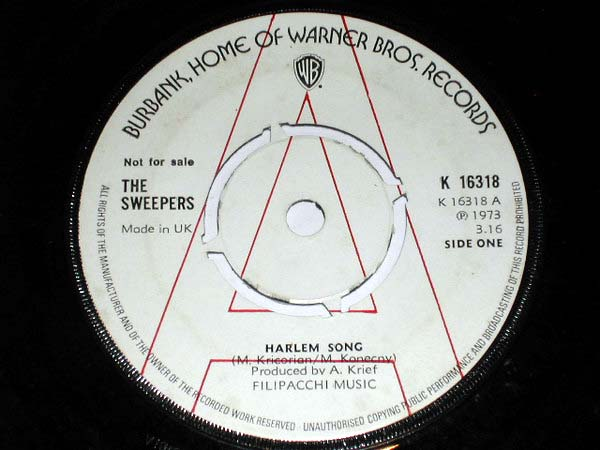 The Sweepers - Harlem Song (Promo)