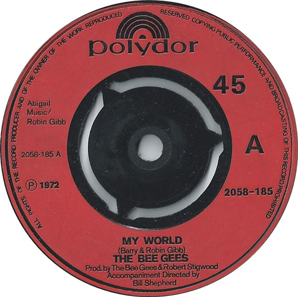 The Bee Gees - My World