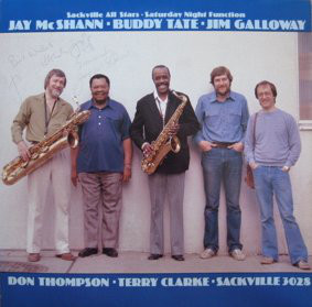 Jay McShann, Buddy Tate, Jim Galloway - Sackville All Stars - Saturday Night Function