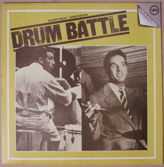 Gene Krupa & Buddy Rich - The Drum Battle
