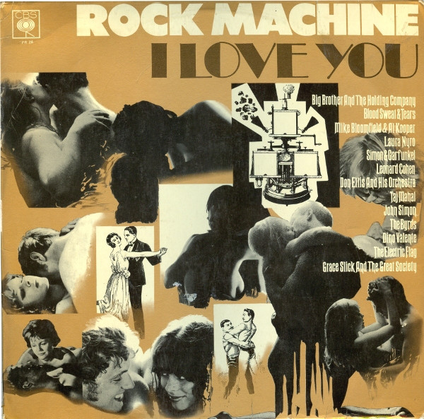 Various - Rock Machine - I Love You
