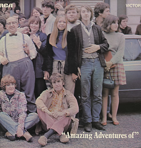 The Liverpool Scene - Amazing Adventures Of