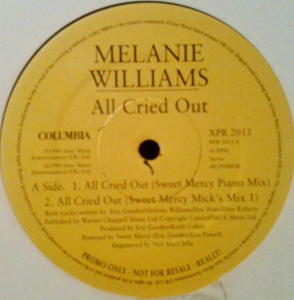 MELANIE WILLIAMS - ALL CRIED OUT (DISC 1)