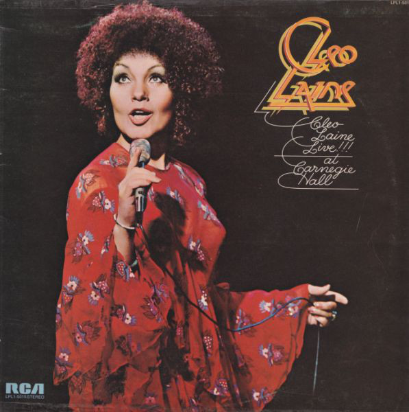Cleo Laine - Cleo Laine Live!!! At Carnegie Hall