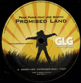 Prax Paris Feat. Joe Smooth - Promised Land