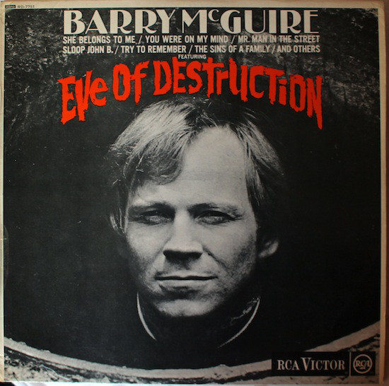 Barry McGuire - Eve Of Destruction Record