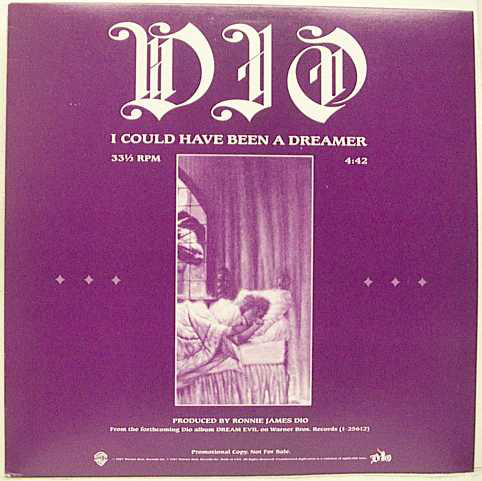 Dio - I Could Have Been A Dreamer