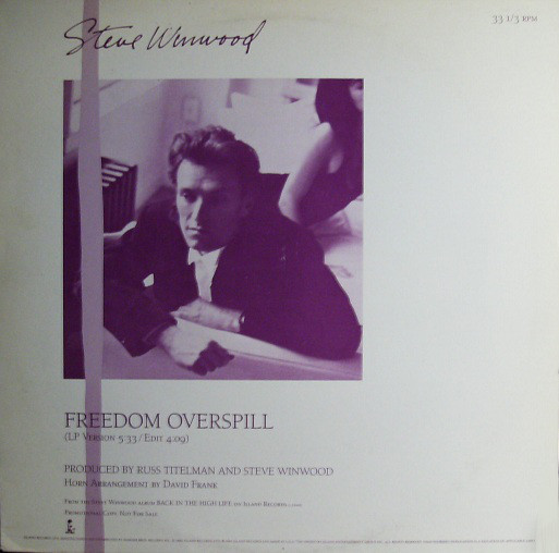 Steve Winwood - Freedom Overspill