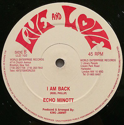 Admiral Bailey / Echo Minott - Winey Winey / I Am Back