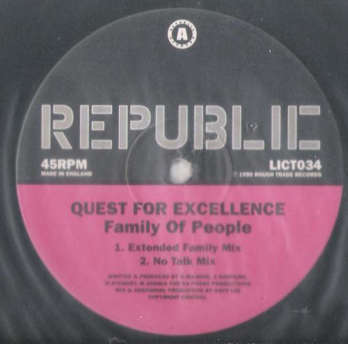 Quest For Excellence - Family Of People