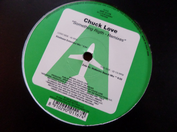 Chuck Love - Something Right Remixes
