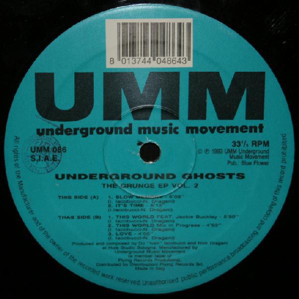 Underground Ghosts - The Grunge EP Vol. 2