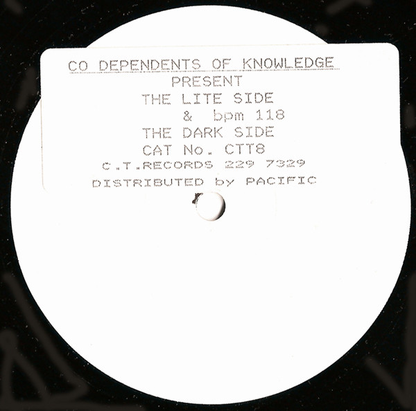 Co Dependents Of Knowledge - The Lite Side & The Dark Side