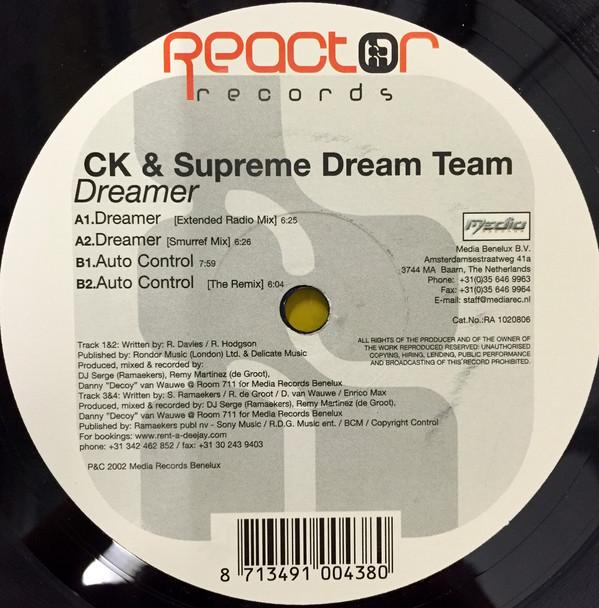CK & Supreme Dream Team - Dreamer