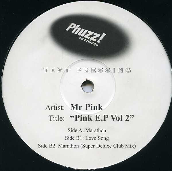 MR PINK - PINK E.P VOLUME 2