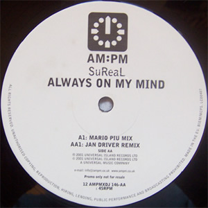 SUREAL - ALWAYS ON MY MIND (REMIXES)