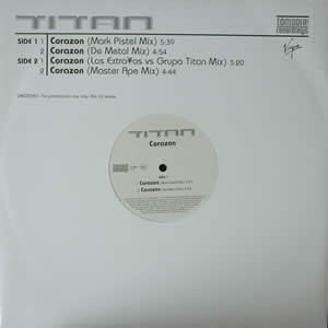 TITAN - CORAZON - 12 inch x 1