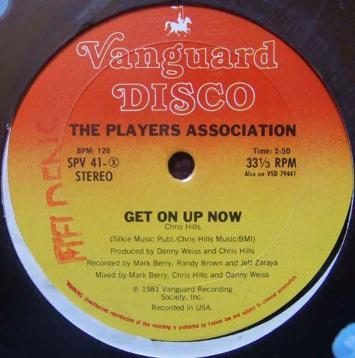 The Players Association - Get On Up Now / Let Your Body Go!