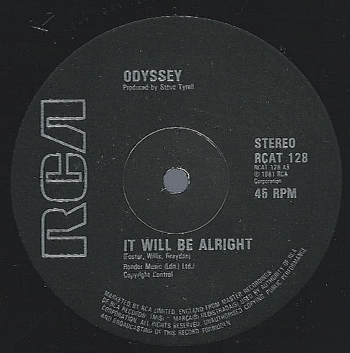 Odyssey - It Will Be Alright