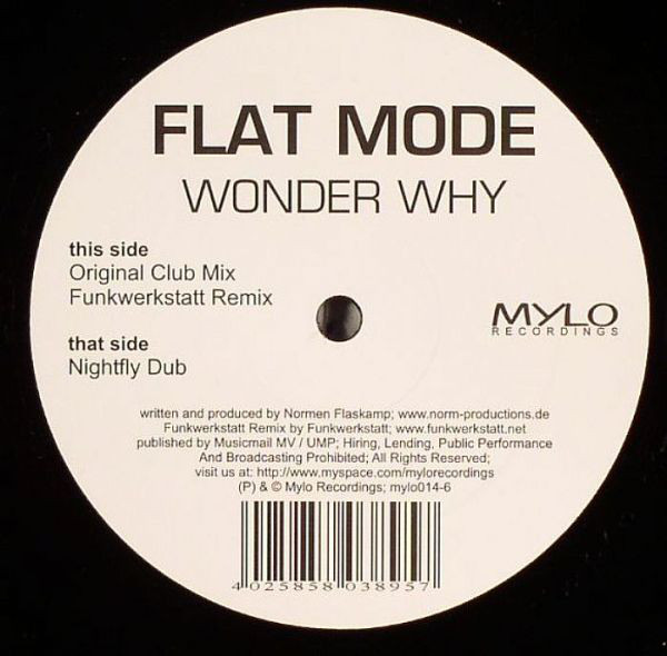 Flat Mode - Wonder Why