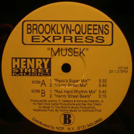 Brooklyn-Queens Express - Musek