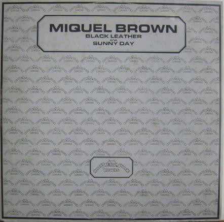 Miquel Brown -  Black Leather