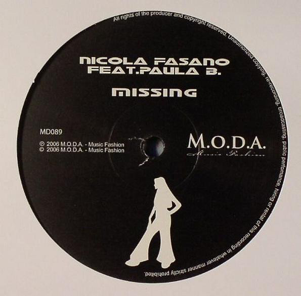 Nicola Fasano Feat. Paula B. - Missing