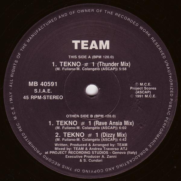 Team - Tekno # 1