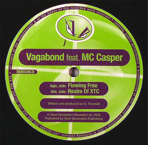 Vagabond Feat. MC Casper - Flowing Free / Realm Of XTC