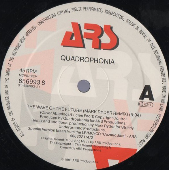 Quadrophonia - The Wave Of The Future (Remix)