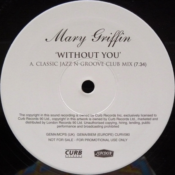 Mary Griffin - Without You