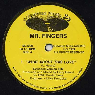 Mr. Fingers - What About This Love
