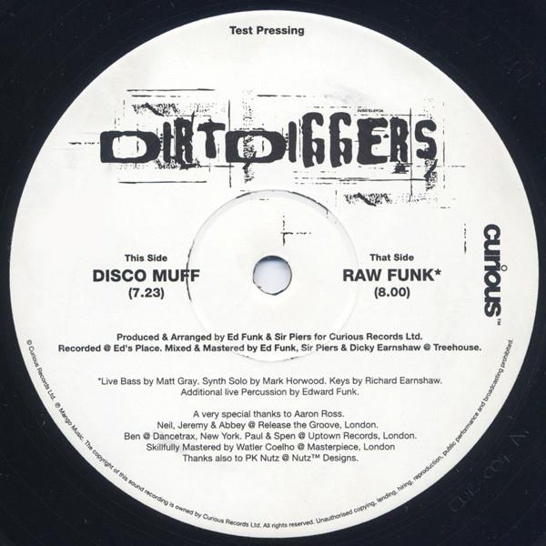 DirtDiggers - Disco Muff / Raw Funk