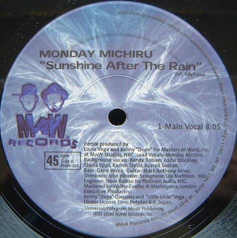 Monday Michiru - Sunshine After The Rain
