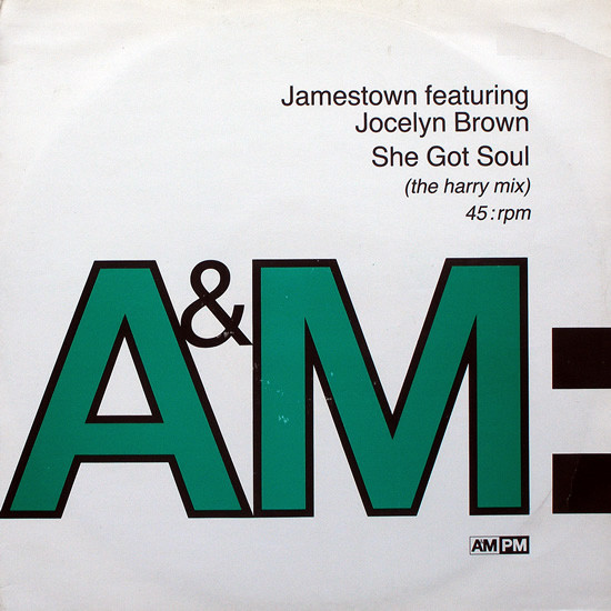 Jamestown Featuring Jocelyn Brown -  She Got Soul