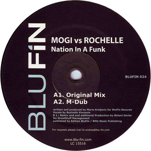 Mogi vs Rochelle - Nation In A Funk