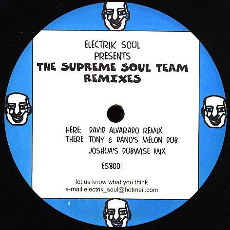 Elektrik Soul - The Supreme Soul Team Remixes